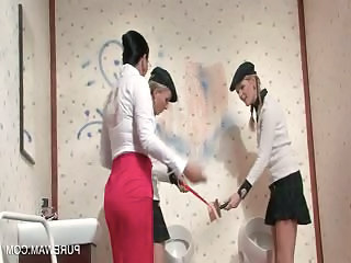 Wam Hotties Punished To Get Messy By Their Mistress