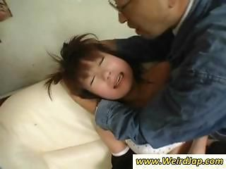 Asian Maids Get Punished And Are Made To Eat Cock And Get Fucked