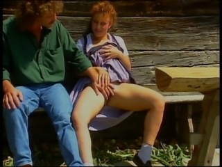 European Farm German MILF Outdoor Redhead Vintage